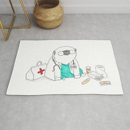 Doctor Pug Rug