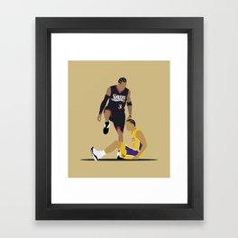 Step Over Lue Framed Art Print