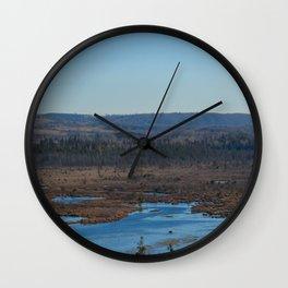 Windy Ridge Wall Clock
