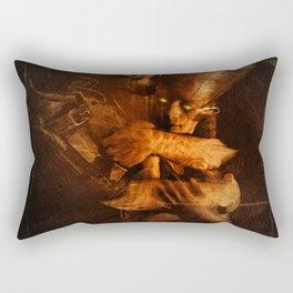 NEVER DIE Rectangular Pillow
