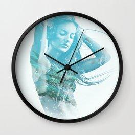 Mermaid Soul Wall Clock