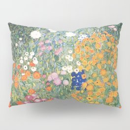 Gustav Klimt Flower Garden Pillow Sham