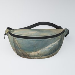 "J.M.W. Turner ""Mer de Glace, in the Valley of Chamouni"" Fanny Pack"