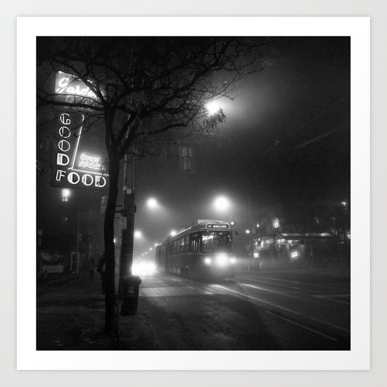 A Streetcar Named Noir Art Print