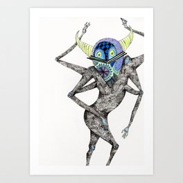 Dancing Spirit Art Print