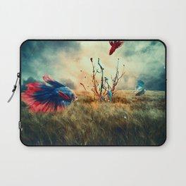 The Gathering of Bettas Laptop Sleeve