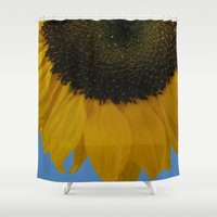 good morning Shower Curtains featuring Good Morning by DesignsByMarly