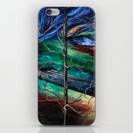 """Spring in Clinton"" Painting iPhone Skin"