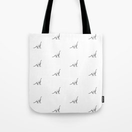 Diplodocus pattern. Tote Bag