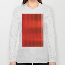 Warm Tartan Rug Long Sleeve T-shirt