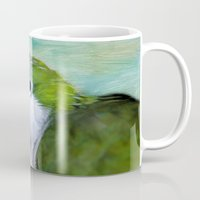 parrot Mugs featuring Parrot by ThePhotoGuyDarren