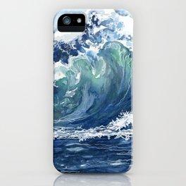 Kai's Wave iPhone Case