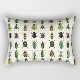 Jeweled Beetles  Rectangular Pillow