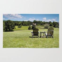 The Farmland Chairs Rug