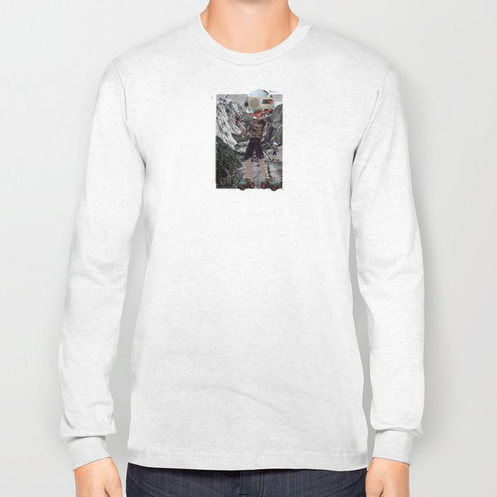 Holiday am KönigsSee 2 Collage Long Sleeve T-shirt