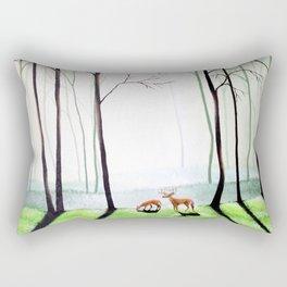 Forest Routine Rectangular Pillow