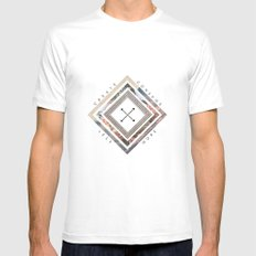 Artist's Mantra MEDIUM Mens Fitted Tee White