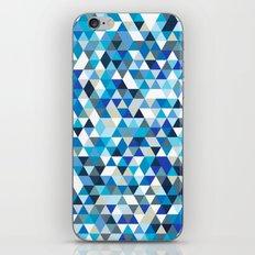 Icy triangles iPhone & iPod Skin