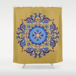 Ottoman Floral Art Shower Curtain