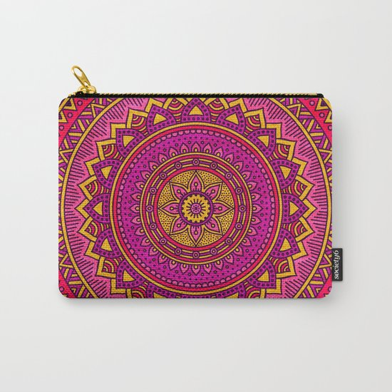 Hippie mandala 25 Carry-All Pouch