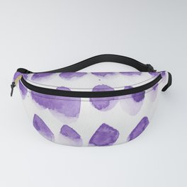 18 | 190321 Watercolour Abstract Painting Fanny Pack