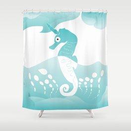 The Aquacorn Shower Curtain