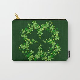 4 Leaf Clover Carry-All Pouch