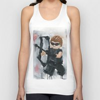 avenger Tank Tops featuring Avenger Lego by Toys 'R' Art