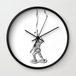 weekend wars Wall Clock