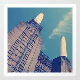 Battersea Power Station 2 Art Print