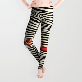 Illusionary Boat Ride 2 Leggings