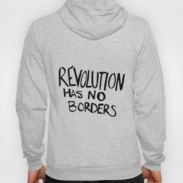 revolution has no borders emily black dark clothing police Hoody