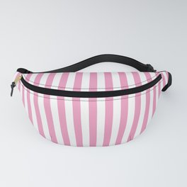 Small Vertical Light Pink Stripes Fanny Pack