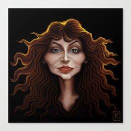 Kate Bush Canvas Print
