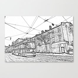 ttc toronto PHOTOCOPY Canvas Print