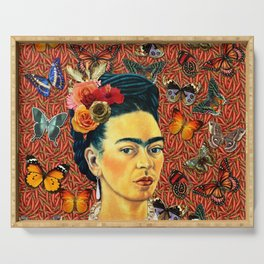 FRIDA bUTTERFLYS Serving Tray