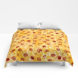 Butts in Undies (Pepperoni with Cheese color way) Comforters