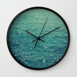 Sea is Always in your Mind Wall Clock