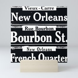 NEW ORLEANS FRENCH QUARTERS Mini Art Print