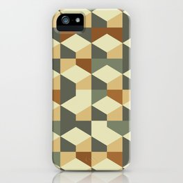 Abstract Geometric Artwork 60 iPhone Case