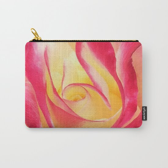 Summer Rose Untouched Carry-All Pouch