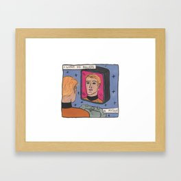 I want to believe in myself Framed Art Print