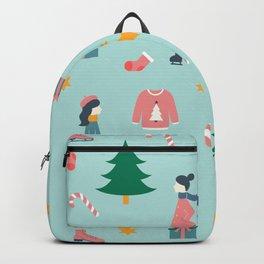 Christmas Scene Backpack