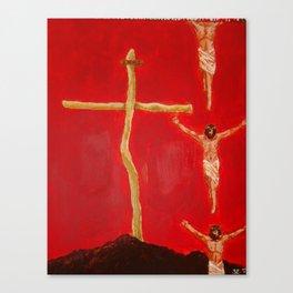 Cross to Bear Canvas Print