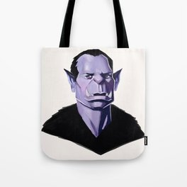 Vampire Portrait Tote Bag