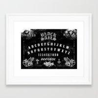 ouija Framed Art Prints featuring ouija by Daneel Johnstone