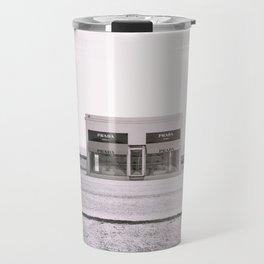 PradaMarfa - Black and White Version Travel Mug