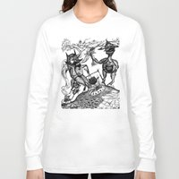 wild things Long Sleeve T-shirts featuring Wild Things by intermittentdreamscapes