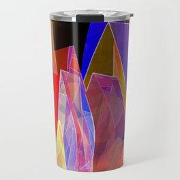 towel full of colors -7- Travel Mug