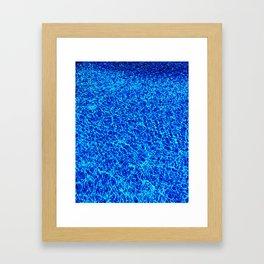 Beach. Please. Framed Art Print